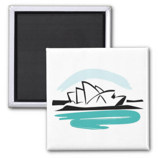 Brushstroke Sydney Destination Magnet