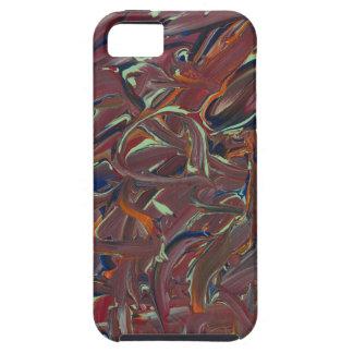 Brushstrokes iPhone 5 Cases
