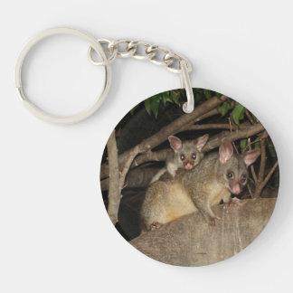 Brushtail Possums Key Ring