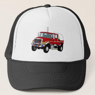 BrushTruckRed Trucker Hat