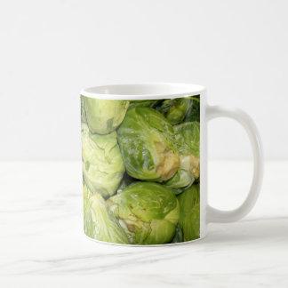 Brussel Sprouts Basic White Mug
