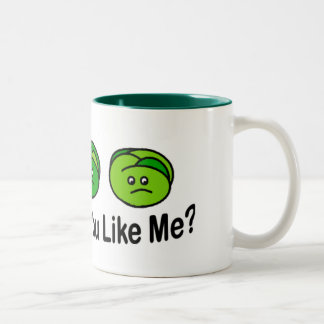 Brussel Sprouts Two-Tone Mug