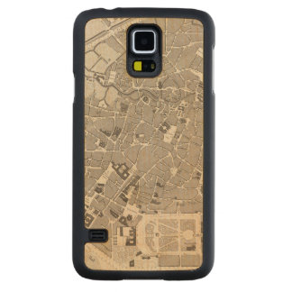 Brussels and Belgium Carved Maple Galaxy S5 Case