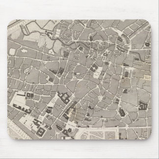 Brussels and Belgium Mouse Mat
