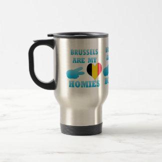 Brussels are my Homies Coffee Mugs