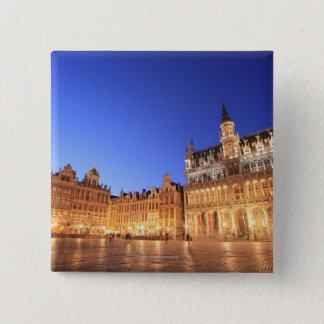 Brussels, Belgium 2 15 Cm Square Badge