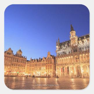 Brussels, Belgium 2 Square Sticker