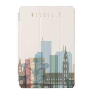 Brussels, Belgium | City Skyline iPad Mini Cover
