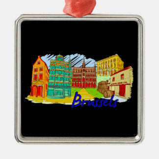 Brussels - Belgium Ornaments