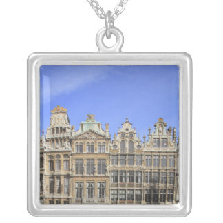 Brussels, Belgium Silver Plated Necklace