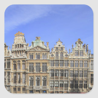 Brussels, Belgium Square Sticker