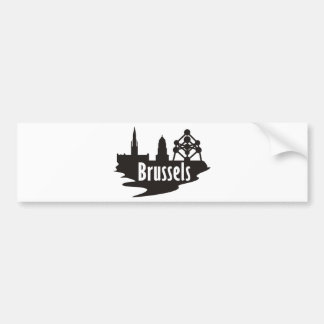 Brussels Bumper Sticker