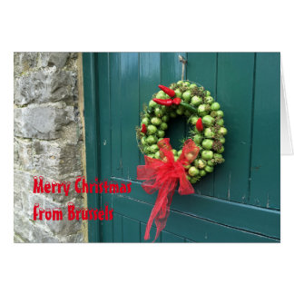 Brussels Christmas card