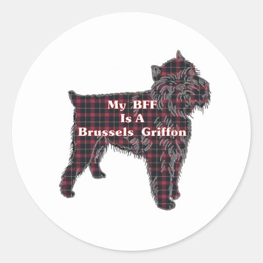 Brussels Griffon BFF Sticker