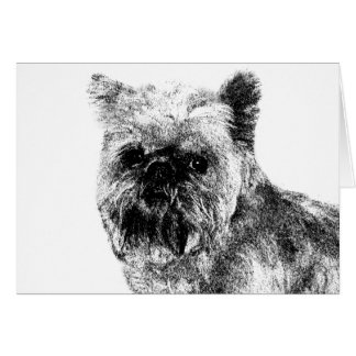 Brussels Griffon Card