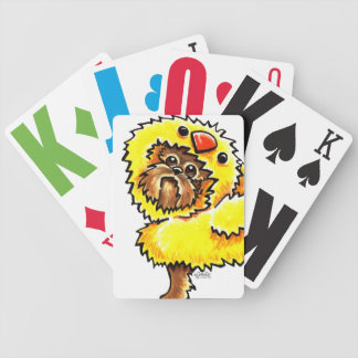 Brussels Griffon Chick Easter Card Deck