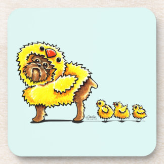 Brussels Griffon Chick Easter Coaster