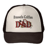 Brussels Griffon Dad Gifts Trucker Hat