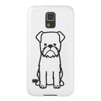 Brussels Griffon Dog Breed Cartoon Galaxy S5 Cover