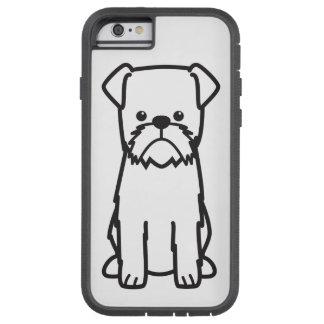 Brussels Griffon Dog Breed Cartoon Tough Xtreme iPhone 6 Case