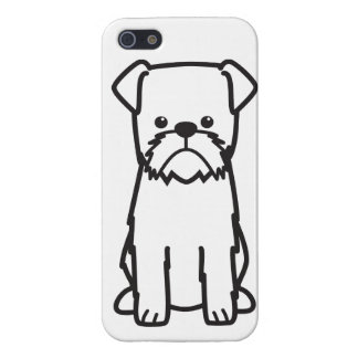 Brussels Griffon Dog Cartoon Case For iPhone 5/5S