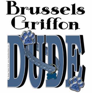 Brussels Griffon DUDE Standing Photo Sculpture