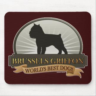 Brussels Griffon Mousepads