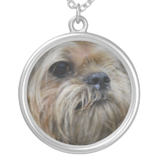 Brussels Griffon Puppy Necklace