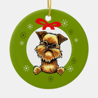 Brussels Griffon Rough Coat Christmas Classic Christmas Ornament