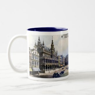 Brussels Souvenir Mug