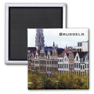 Brussels Square Magnet