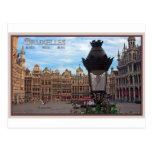 Brussels - The Grand Place Post Card