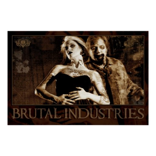 Brutal Industries Poster