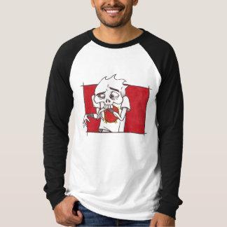 """Brutal Muse """"Brutal Bud 3"""" Raglan Long-Sleeve T-Shirt"""