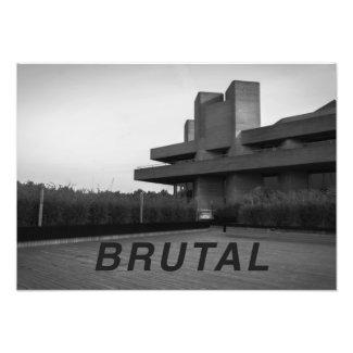 Brutal National Print