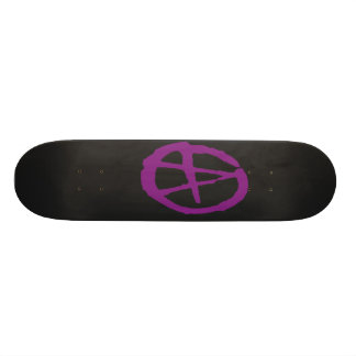 Brutal Purlpe & Black Anarchy Skateboard Decks