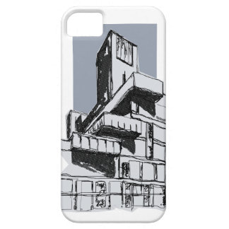 Brutalist Modernist Architecture Building iPhone iPhone 5 Cover