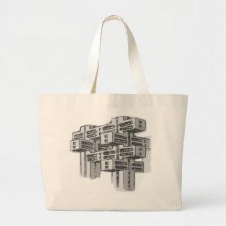 Brutalist Modernist Architecture Sketch Tote