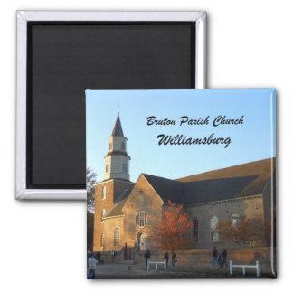 Bruton Parish Church Williamsburg Fridge Magnet