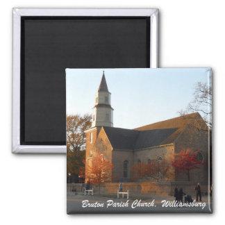 Bruton Parish Church Williamsburg Refrigerator Magnets