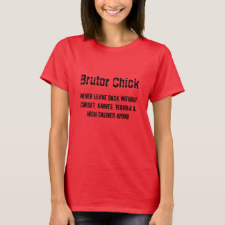 Brutor Chick leaves dock without... T-Shirt
