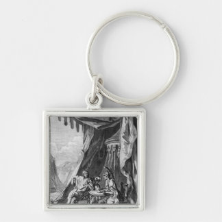Brutus and Cassius in Brutus's Tent Key Chain