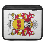 Brutus Family Crest iPad Sleeves
