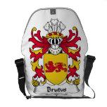 Brutus Family Crest Messenger Bags