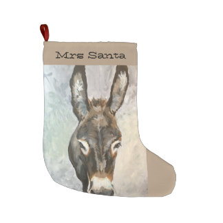 Brutus Miniature Donkey Christmas Stocking