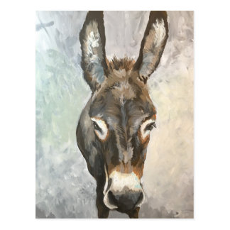 Brutus Miniature Donkey Post Card