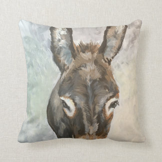 Brutus The Miniature Donkey Pillow