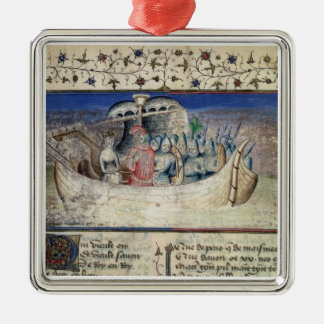 Brutus the Trojan Sets Sail for Britain, from 'The Christmas Ornament