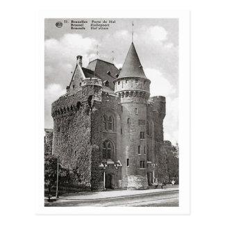 Bruxelles, Belgium, Porte de Hal Postcard