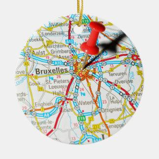 Bruxelles, Brussel, Brussels  in Belgium Christmas Ornament